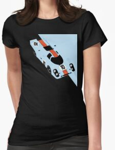 917 Racing livery Womens Fitted T-Shirt