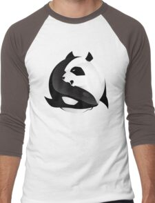 BW SHARK Vs PANDA Men's Baseball ¾ T-Shirt
