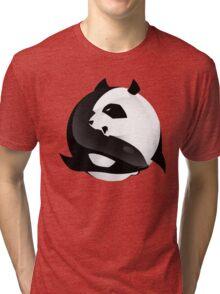 BW SHARK Vs PANDA Tri-blend T-Shirt
