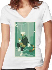 Botanist Women's Fitted V-Neck T-Shirt