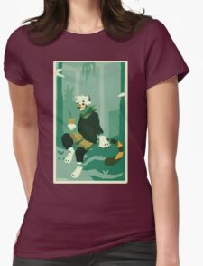 Botanist Womens Fitted T-Shirt