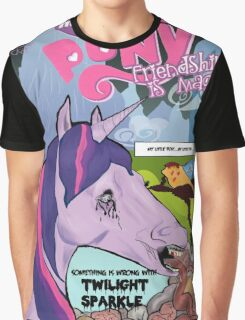 Something is Wrong w/Twilight Sparkle Graphic T-Shirt