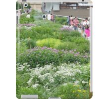 High Line Flowers, New York's Elevated Garden and Park iPad Case/Skin