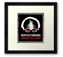 District of Columbia Feeling The Bern Framed Print