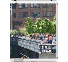 The High Line, New York City's Elevated Garden and Park iPad Case/Skin