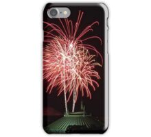 Space Mountain Fireworks iPhone Case/Skin