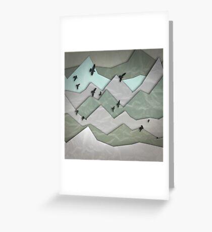 Mountain Layers II Greeting Card