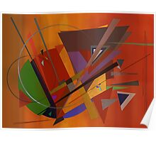 Abstract composition 73 Poster