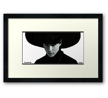 SHINee TAEMIN - Everybody era Framed Print