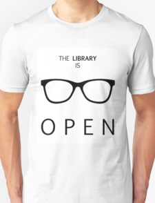 The Library is Open T-Shirt