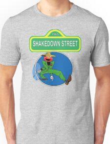 Shakedown on Sesame Street (elmo) T-Shirt