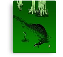 Swamp Dragon Canvas Print
