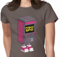 Mighty Games Logo T-Shirt! Womens Fitted T-Shirt