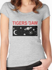 Tigers Jaw Space Tour Women's Fitted Scoop T-Shirt