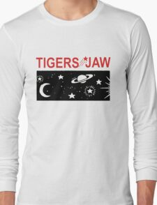 Tigers Jaw Space Tour Long Sleeve T-Shirt