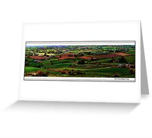 Forty Shades Of Green Greeting Card