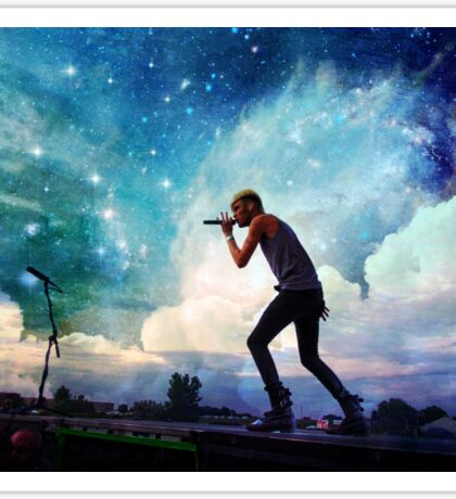 Colton Dixon-Galaxy Sticker