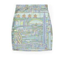 Megatropolis, Pumpkin District Mini Skirt