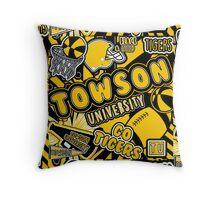 Towson University Throw Pillow