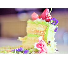 Let us eat cake Photographic Print