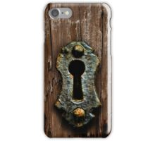 Key Hole iPhone Case/Skin