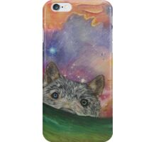 Space Wolf iPhone Case/Skin