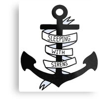 SWS Anchor Metal Print