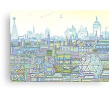 Megatropolis, Marina District Canvas Print