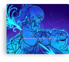 Conquest and fate Canvas Print