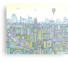 Megatropolis, Riddle District Metal Print