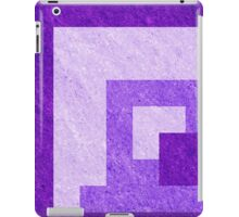 Purple Pixel Blocks iPad Case/Skin