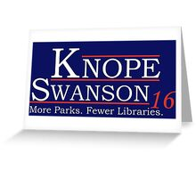 Knope Swanson 2016 Greeting Card