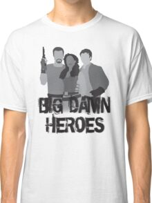 Big Damn Heroes - Firefly poster Classic T-Shirt