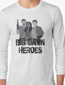 Big Damn Heroes - Firefly poster Long Sleeve T-Shirt