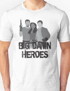 Big Damn Heroes - Firefly poster T-Shirt