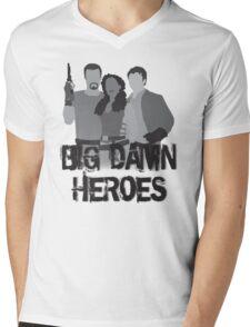 Big Damn Heroes - Firefly poster Mens V-Neck T-Shirt