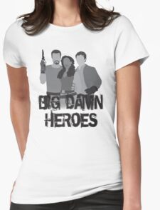 Big Damn Heroes - Firefly poster Womens Fitted T-Shirt