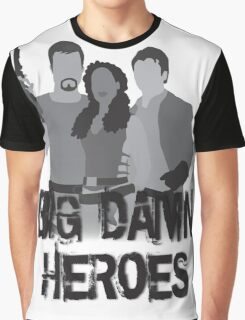 Big Damn Heroes - Firefly poster Graphic T-Shirt