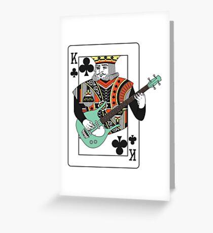 King Dano Greeting Card