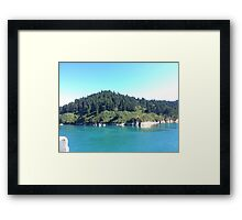 Land Framed Print