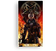 Percy- The devil Canvas Print