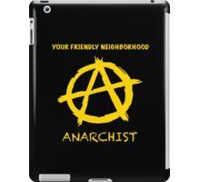 Friendly Anarchist iPad Case/Skin
