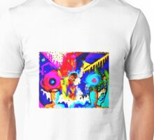 Psychedelic Rainbow Monster  Unisex T-Shirt
