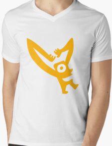 Cheez Television Man Mens V-Neck T-Shirt