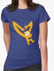 Cheez Television Man Womens Fitted T-Shirt
