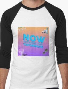 Vaporwave Dream Men's Baseball ¾ T-Shirt