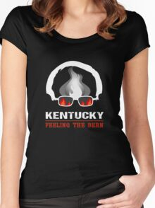 Kentucky Feeling The Bern Women's Fitted Scoop T-Shirt