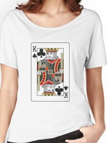 King of Clubs Women's Relaxed Fit T-Shirt