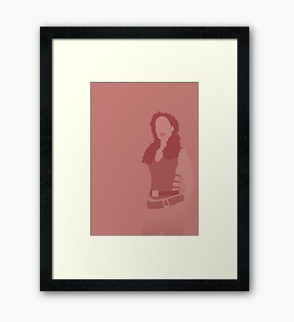 zoe, firefly Framed Print