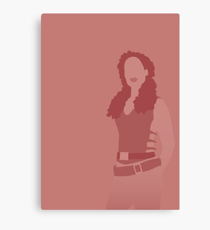 zoe, firefly Canvas Print